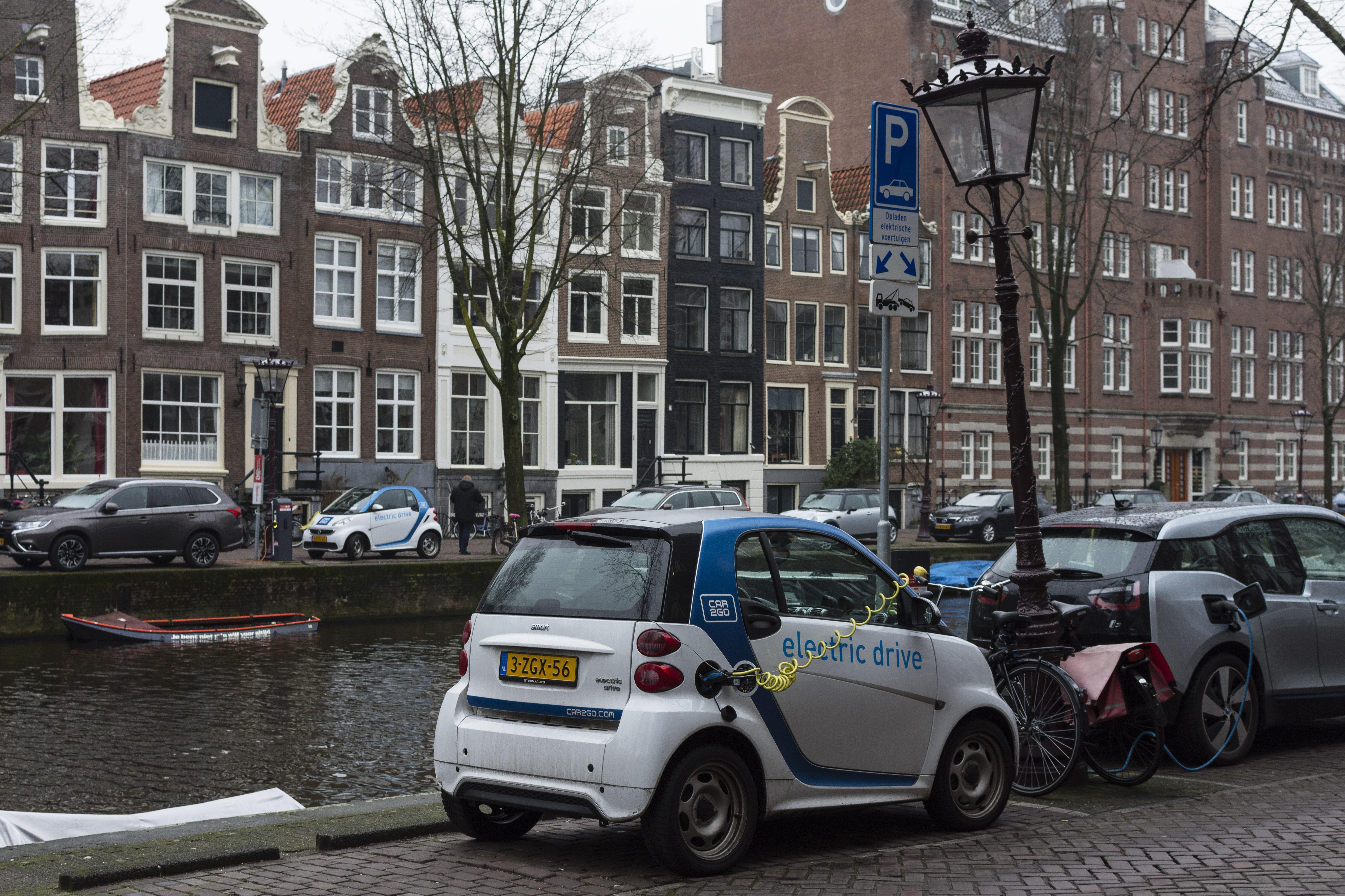 Metropoolregio Amsterdam Meer Elektrische Voertuigen Meer