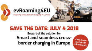 Save the date evRoaming4EU Netherlands